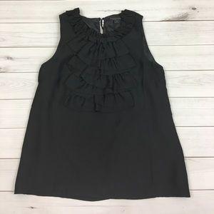 Ruffle Black top