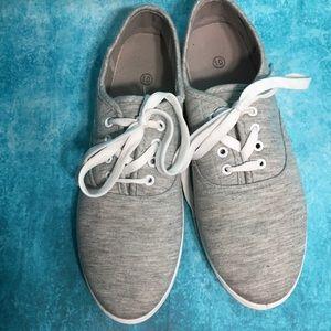Gray Soft Tennis Shoe