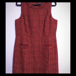 Lands end tweed dress.