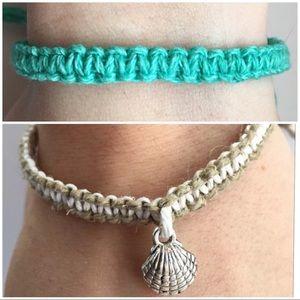 Jewelry - ✨🐚Handmade Hemp Bracelet Bundle