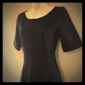 Jcrew black dress size 6