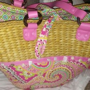 Vera Bradley beach bag like new very cool bag