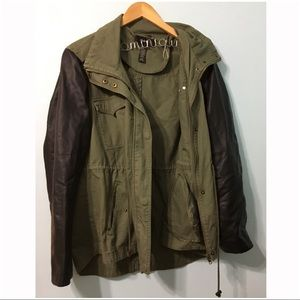 Style&co. Cargo Pleather Jacket (XL)