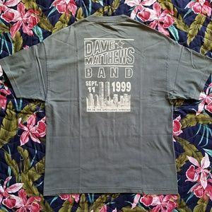 Vintage Dave Matthews Band Tee Shirt