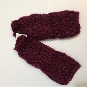 ✨Brand New✨ fingerless knit gloves