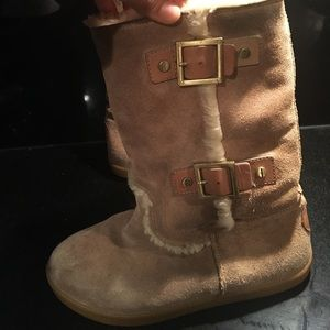 Tory burch tan Suede boots 7