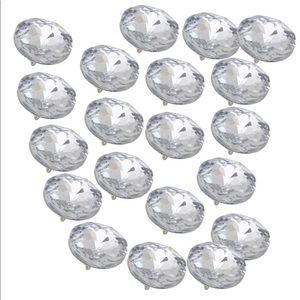 Other - Luxurious headboard upholstery crystal buttons