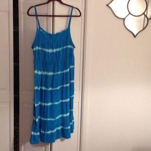Turquoise Tank Dress!🦋🏝