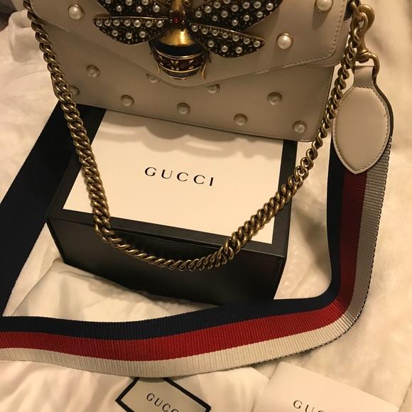 bbc75cbb375 Gucci Handbags - Gucci Broadway leather clutch. Very rare!