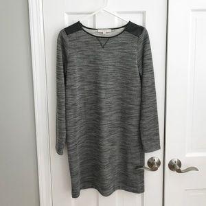 LOFT textured shift dress