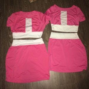 Size Small & Medum Two Piece Mini Skirt Clubwear
