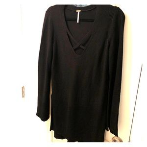 Free People Cross Cross sweater