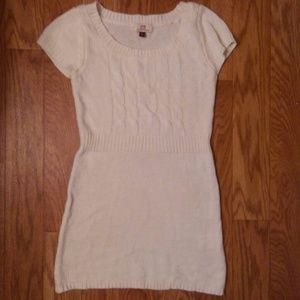 L.E.I. Mini Sweater Dress.