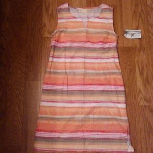 NWT Paradise Shores Sleeveless Dress.