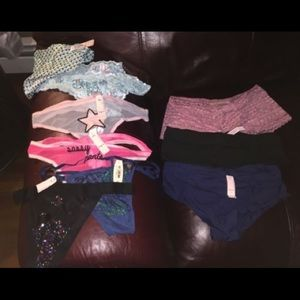 11 pairs of panties nwt