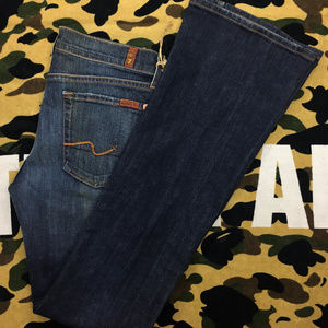 7 for all Mankind Flare Denim Jeans 🔥