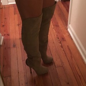 H by Halston Over the Knee Boots