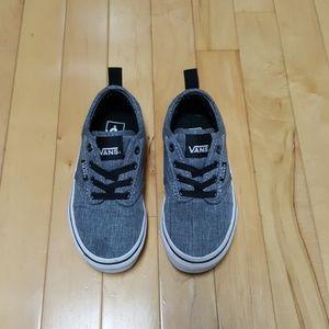 Like new boys vans slip on sneakers