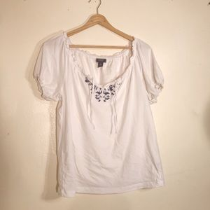 Chaps peasant top size M