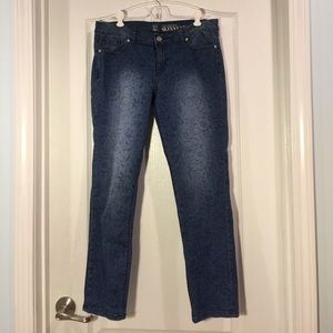 NY&C skinny ankle jeans