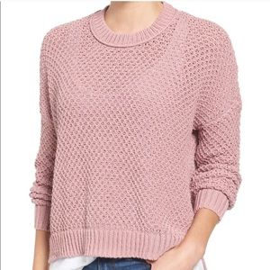 Madewell Pink sweater