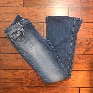 J Brand Flared Jeans Lovestory Perception Size 28
