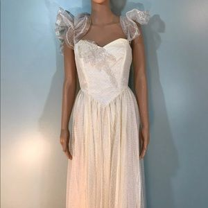 Dresses & Skirts - Vintage 1950s wedding gown