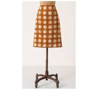 Maeve Anthropologie Pencil Skirt Velvety Classic