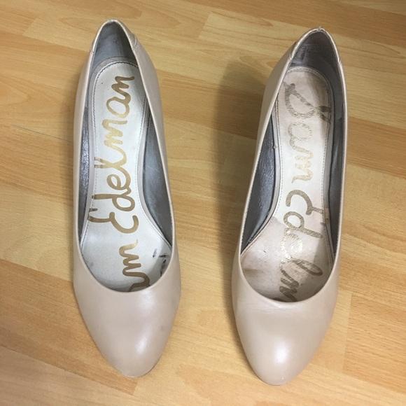 Sam Edelman Shoes - Sam Edelman Nude Heels