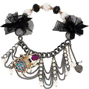 🕸🕷 BJ Creepshow Spider & Web Bracelet 🕷🕸