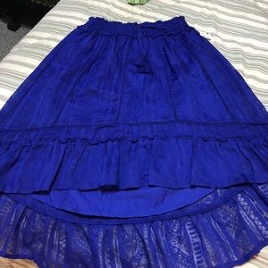 Aeropostale Hi-Lo Skirt / NWT