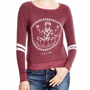 Spiritual Gangster Savasana Printed Sweatshirt