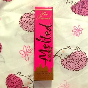 Brand new, never opened Too Faced high shine lip