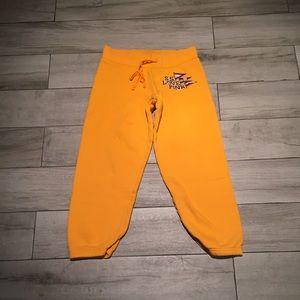 SS Love Pink crop sweatpants