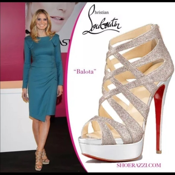 5d06c389b2d Christian Louboutin Balota Glitter sandal