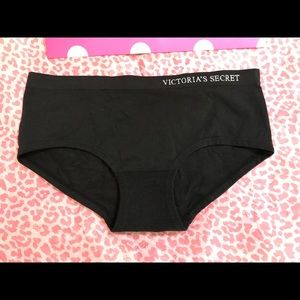 Victoria secret hiphugger panty size small black