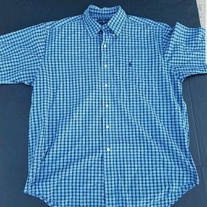 Ralph Lauren Men Large Button Down Shirt short sle