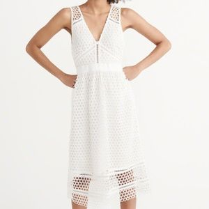 Abercrombie & Fitch all white dress.