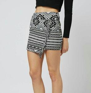 Topshop Tassle Wrap Skirt