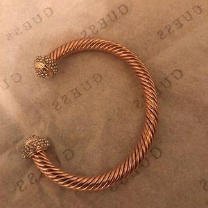 Rose gold toned bracelet