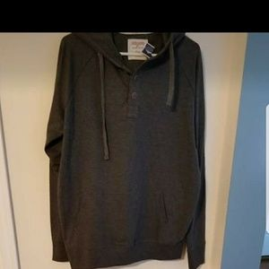 Other - Men's Hoodie Lightweight Large Gray Long Sleeve