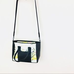 French Connection Floral Colorblock Crossbody