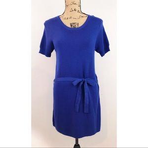 NWT Twenty One Blue Sweater Tunic Dress