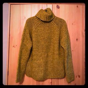Madewell Handknit Cozy Turtleneck Sweater