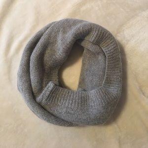 Grey H&M infinity scarf