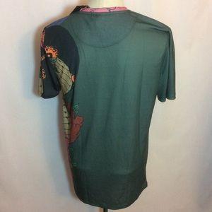 Criminal Damage Shirts - Criminal Damage Streetware Snake T Shirt Green XL