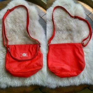 Marc by Marc Jacobs Red Orange Crossbody