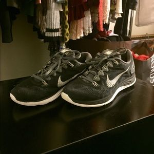 Men's Nike LunarGlide+ 5 Running Shoes Size 7.5