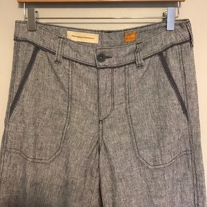 Anthropologie Pilcro wideleg trouser pants