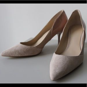 Pink Zara Womens Heels